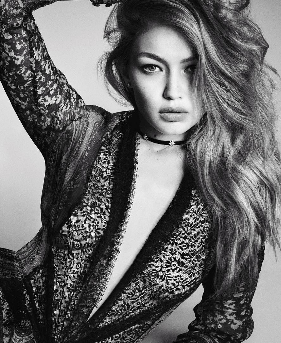 Gigi Hadid Vogue Japan December 2016