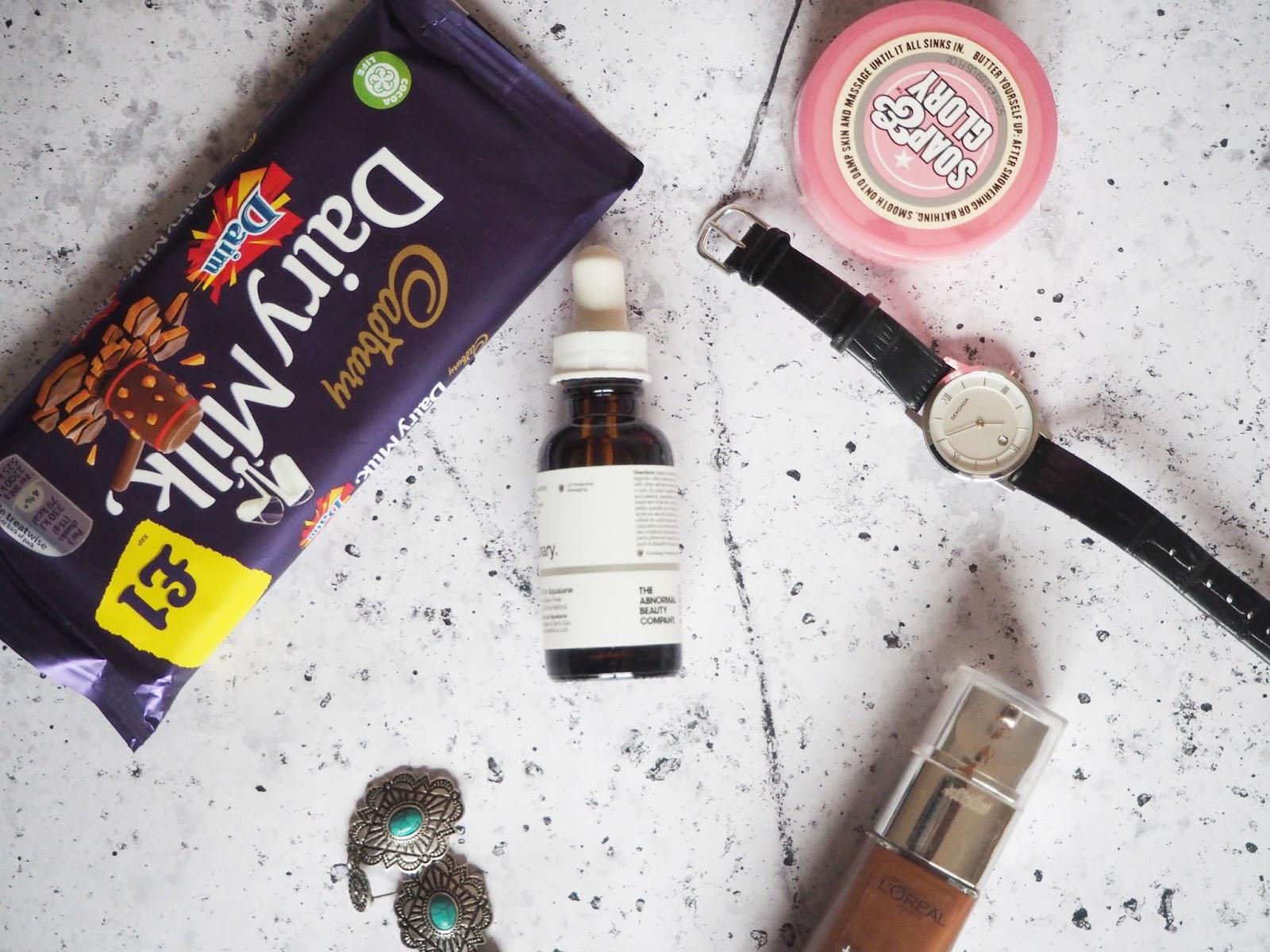 Flatlay Chocolate Watch