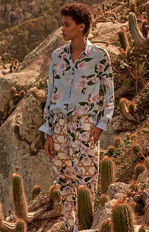 camisa e calça jogger Isolda para Riachuelo
