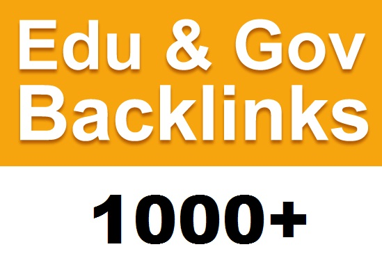 .Edu and .Gov Dofollow Backlinks list