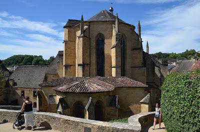 Sarlats. Absis de la catedral de Saint-Sacerdos