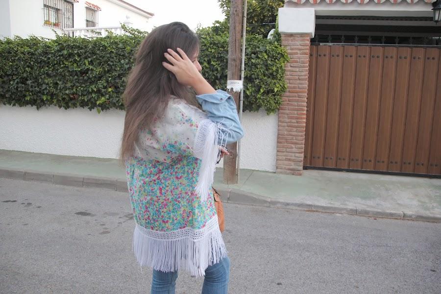 DIY Cómo hacer un Kimono con flecos (Maratón de TELARIA)