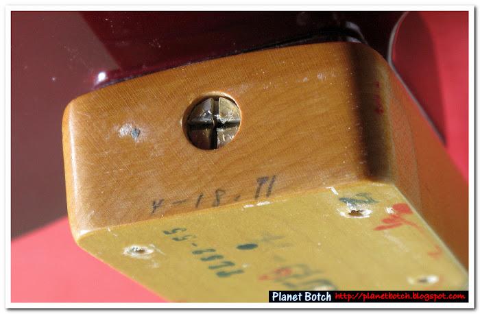 Fender MIJ '50s Telecaster Reissue neck date