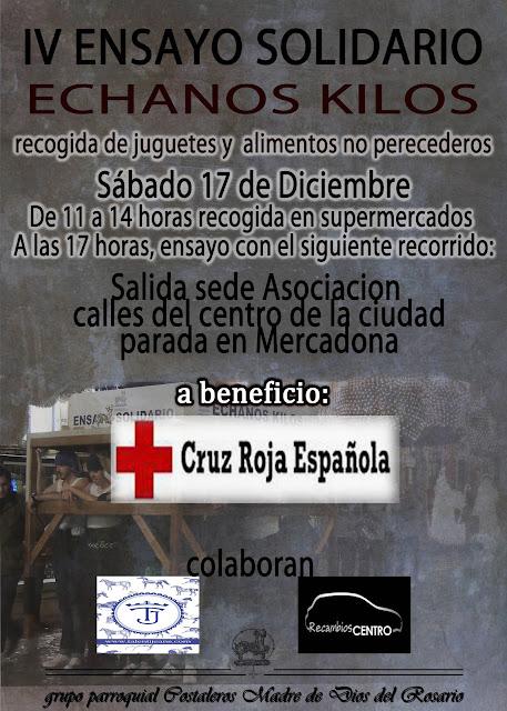 IV Ensayo Solidario - Échanos Kilos