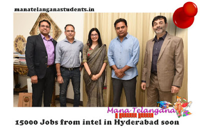 15000 Jobs from intel in Hyderabad soon