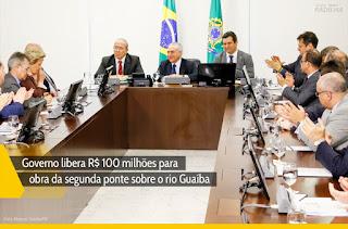 Eliseu Padilha - Governo libera R$ 100 milhões para obra da segunda ponte sobre o rio Guaíba