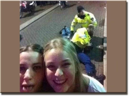 Fail - Selfie flagrante