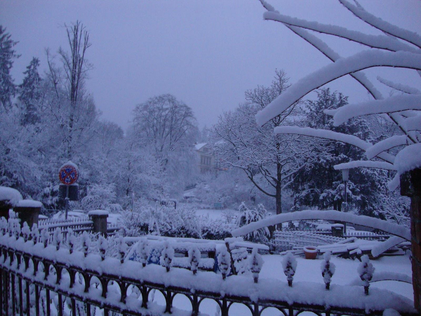 Schnee Wiesbaden