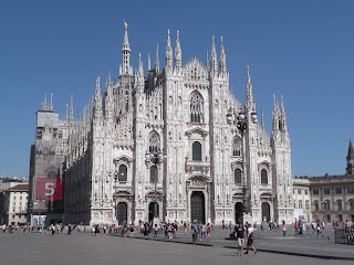 Photo of the Milan Duomo