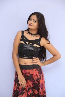 Shriya Vyas in a Tight Backless Sleeveless Crop top and Skirt 165.JPG