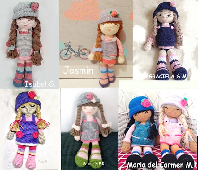 Versiones de la muñeca Anni