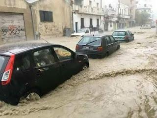 Intempéries: la ville de Bizerte se noie sous les inondations