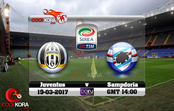 مشاهدة مباراة سامبدوريا ويوفنتوس اليوم 19-3-2017 في الدوري الإيطالي