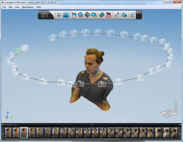 how to, photofly, 123d catch, autocad, images to 3d model, scan object, scan house, easy 3d generate, images to model