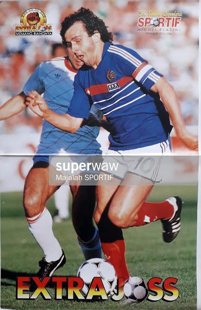 MICHAEL PLATINI FRANCE 1978-1986