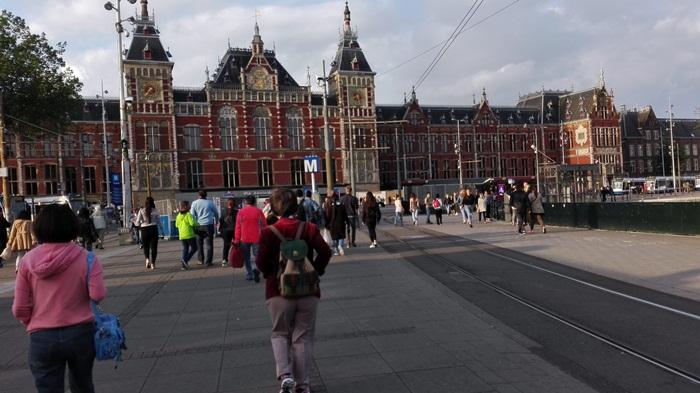 dworzec główny amsterdam