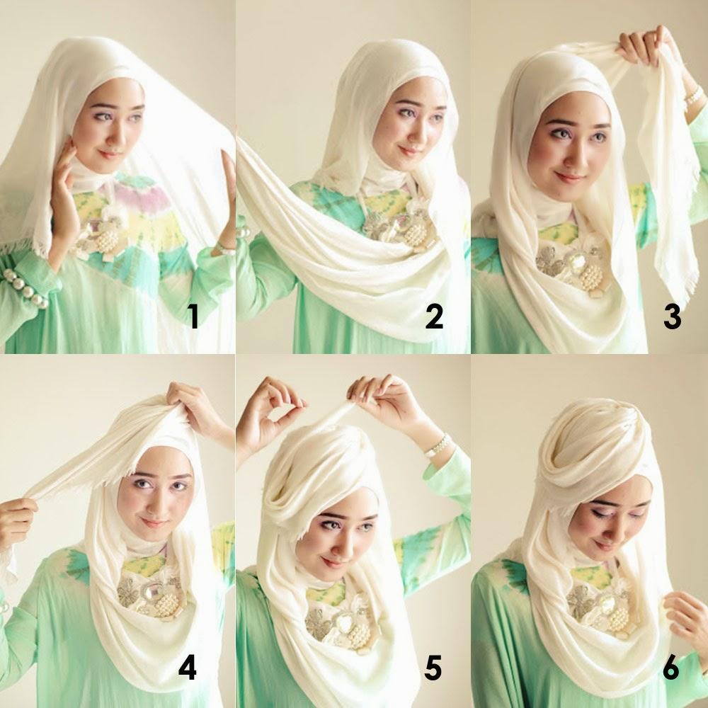 tutorial hijab gaya topi | tutorial hijab