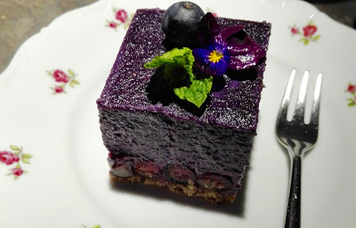 Peaceful Cuisine Blueberry Cake