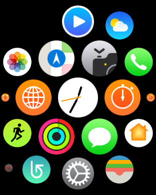 Modificare menu applicazioni Apple Watch