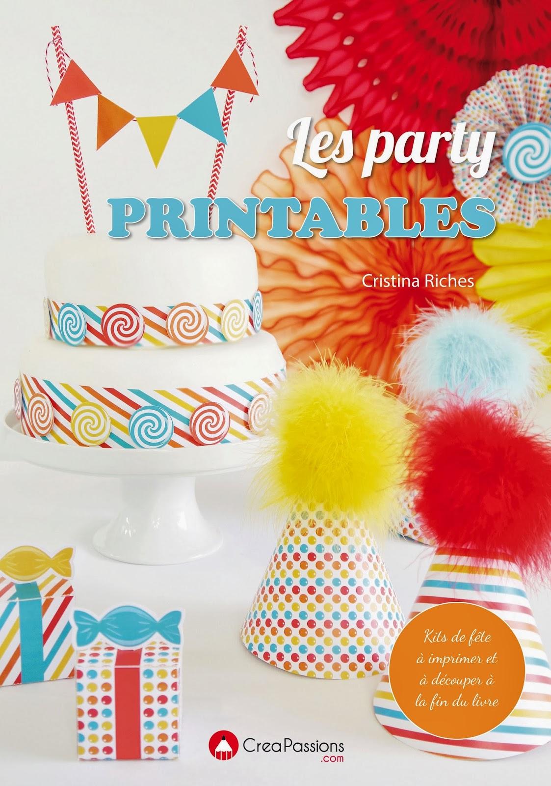 Mon Livre | Les Party Printables | BirdsParty.fr