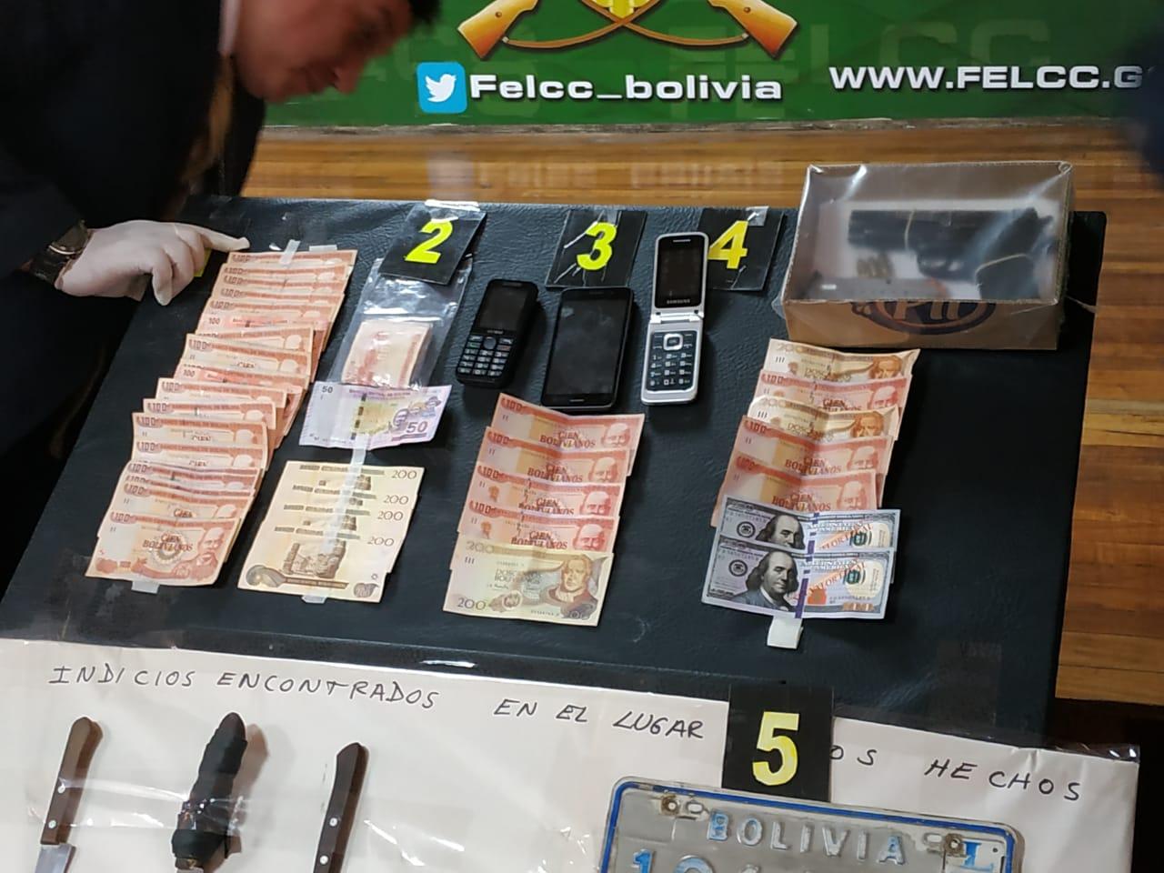 Se presume que el Clan Rodo Rojas atracó a una familia en El Alto sustrayendo $us 350 mil  / ÁNGEL SALAZAR