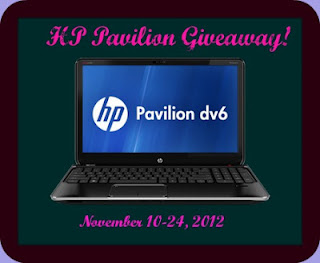 HP Pavilion Notebook Giveaway!