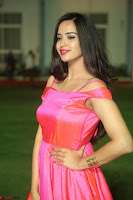 Actress Pujita Ponnada in beautiful red dress at Darshakudu music launch ~ Celebrities Galleries 010.JPG