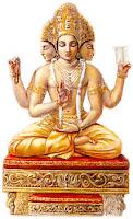 Brahma Purana - Brahma's Head