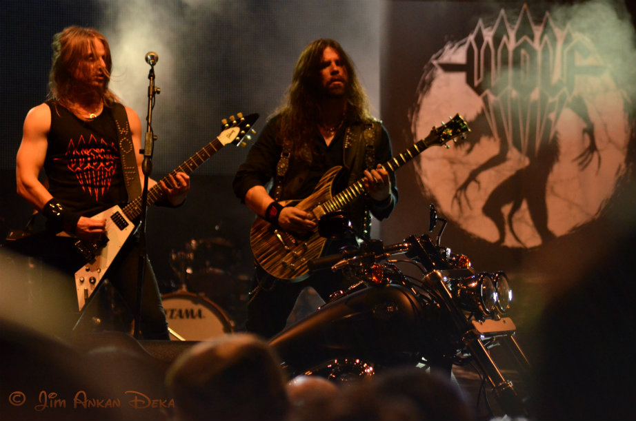 Wolf, Swedish metal band at Harley Rock Riders, Bangalore, India - Jim Ankan Deka photo