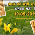 Gehu,Sarso,Cotton Today Mandi Bhav 10-05-2019