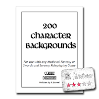 Frugal GM Review: 200 Character Backgrounds