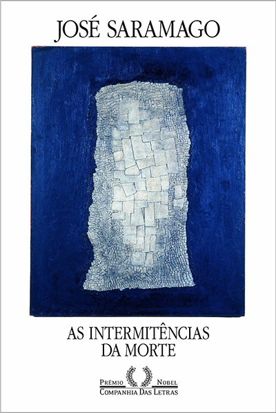 Capa do livro As Intermitências da Morte, de José Saramago