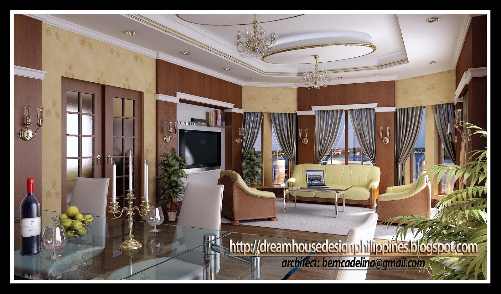Interior House Design Philippines - Living Room Designs ...