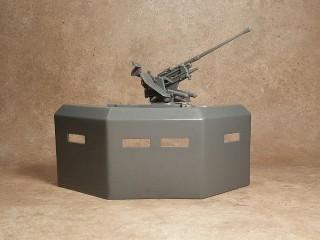 BMC Toys Bunk Gun Emplacement