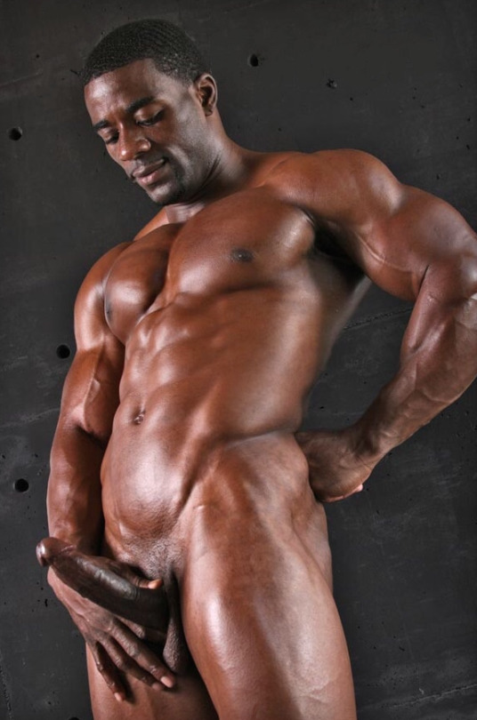 Muscular Ebony 72