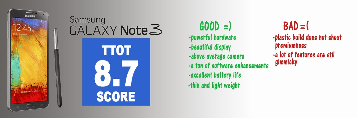 Galaxy Note 3 Reveiw the technology of today international