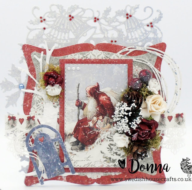 Joyous Winterdays Santa Claus | By Donna