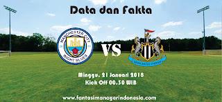 Data dan Fakta Fantasy Premier League Manchester City vs Newcastle Fantasi Manager Indonesia