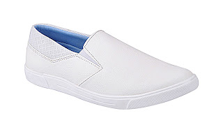 White Slip On Shoe