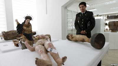 Spain, Argentina return hundreds of artefacts to Ecuador