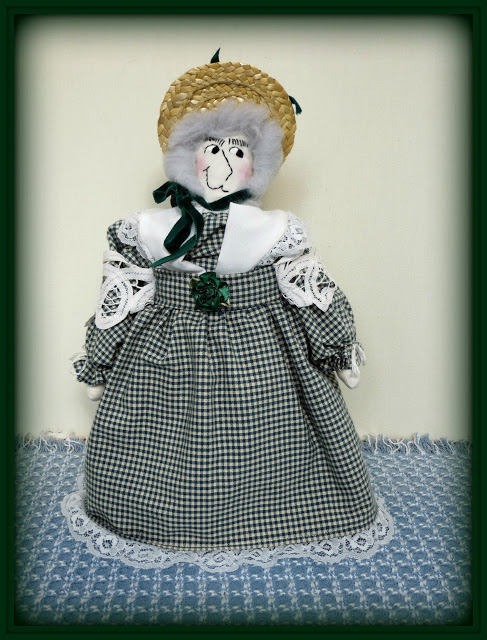 "My ""Helena"" Colonial Doll New E-Pattern"