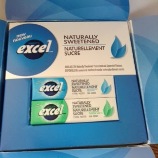 Excel Naturally Sweetened Gum