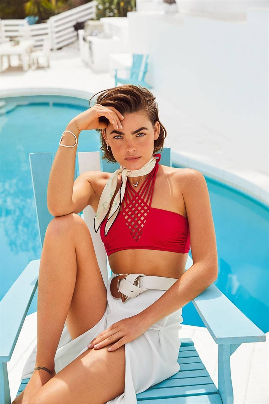 Vanity Fair Italia June 2018 Bambi Northwood-Blyth by Hunter & Gatti