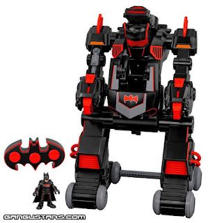 batman dc comics 2016 2017 BatBot new Fisher-Price imaginext Kenner super heroes アメコミ バットマン