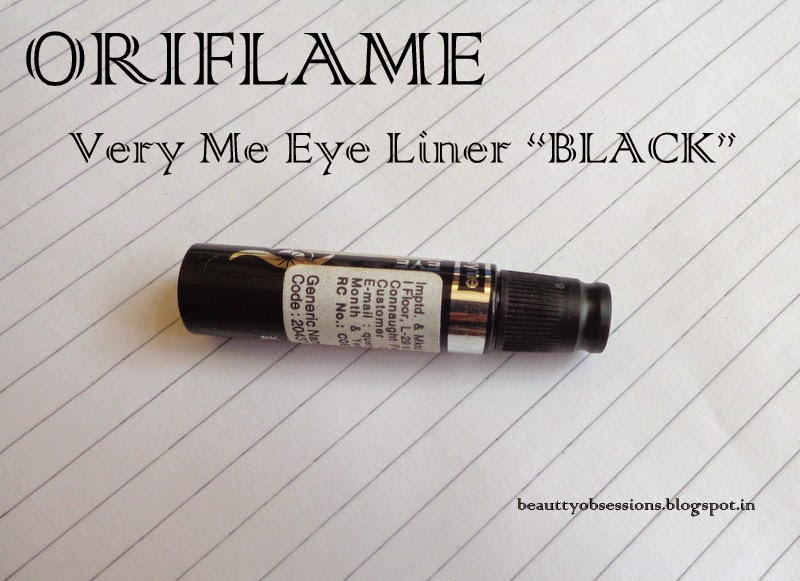 "Oriflame Very me Clickit Liquid Eyeliner ""Black"" Review"