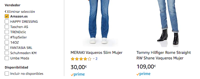 encontrar ofertas en amazon