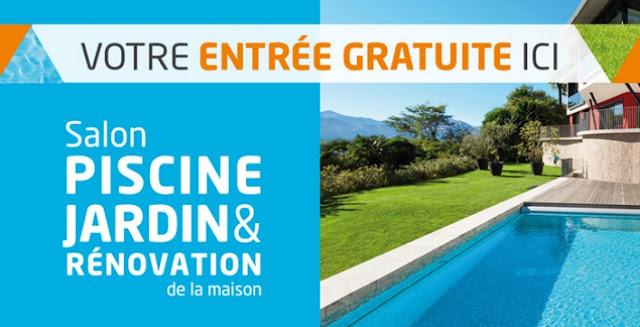 Demandez votre invitation gratuite pour le salon piscine for Piscine et jardin marseille 2017