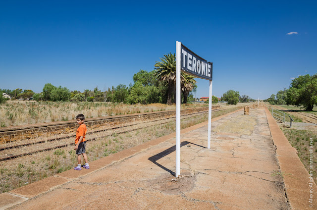 Terowie Railway Platform, South Australia
