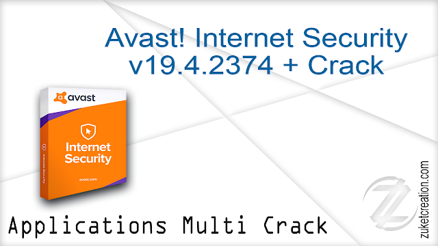 Avast! Internet Security v19.4.2374 + Crack   |   342 MB