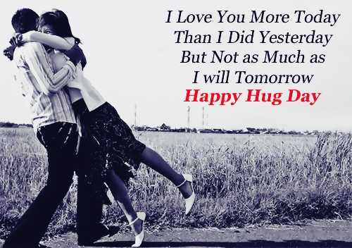 hug day images and quotes